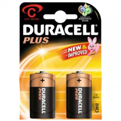 Duracell Dikke  Staaf  2Pack